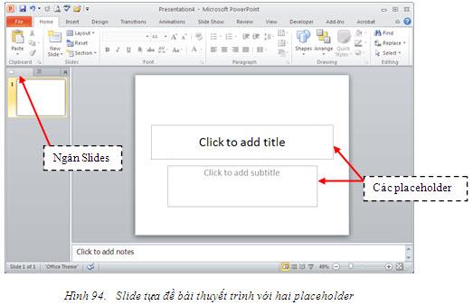 hướng dẫn sử dụng powerpoint 2010